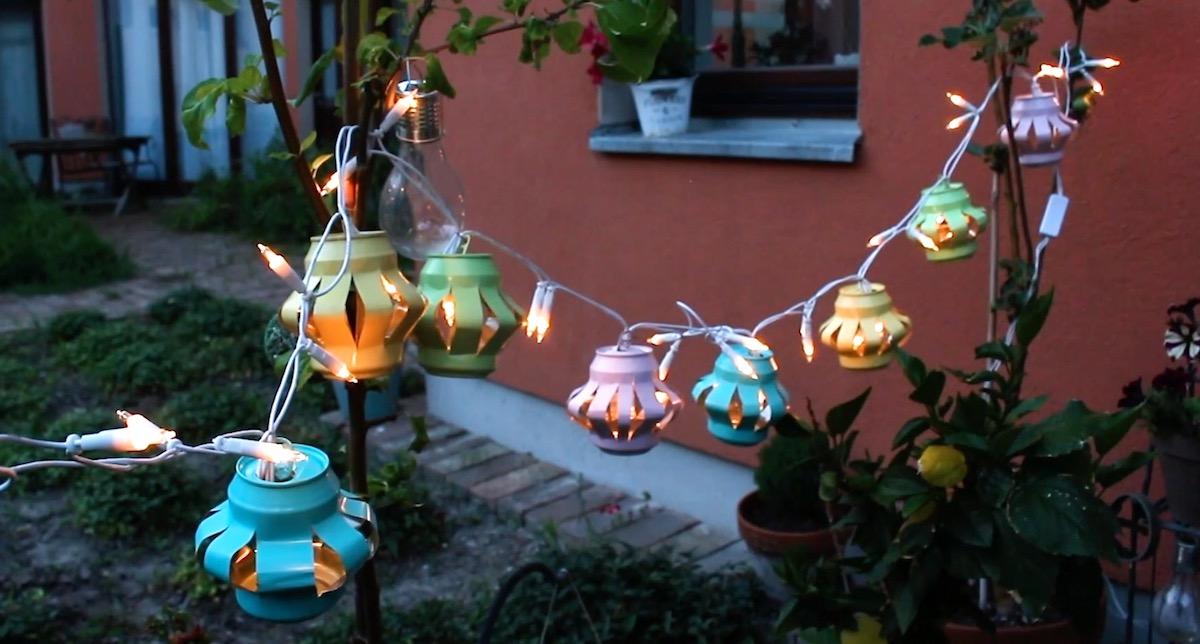 jolies lumières pour le jardin et la maison