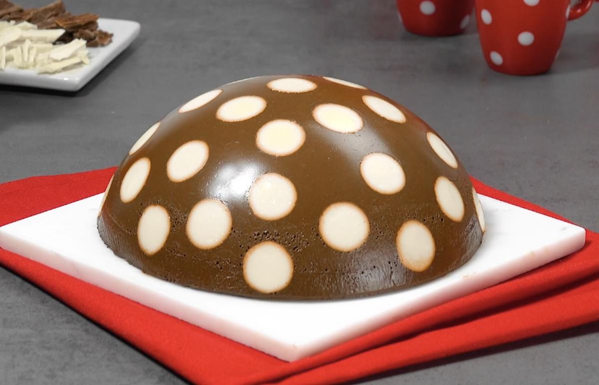 pudding tacheté