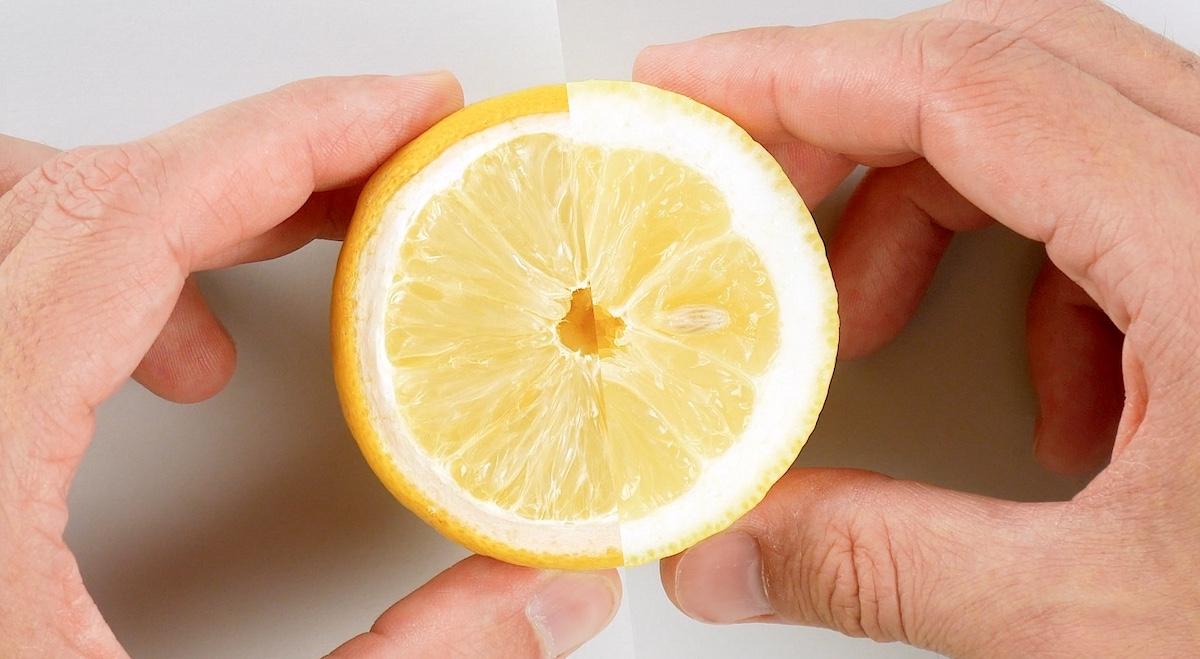 citron desséché