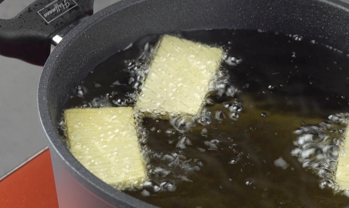 faire frire les pommes de terre
