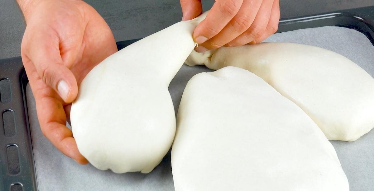 recouvrir la viande de pâte feuilletée