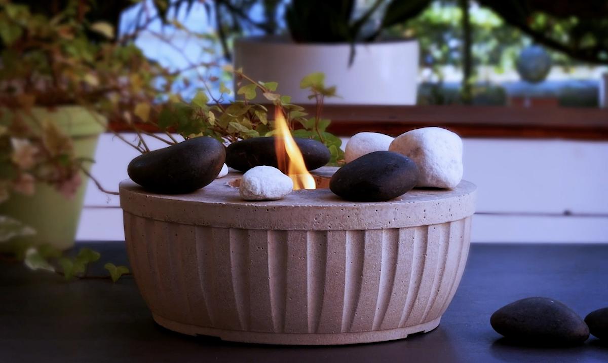 idées avec du ciment pour un beau jardin