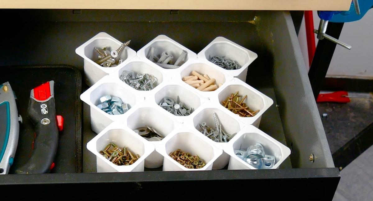 organisation des tiroirs