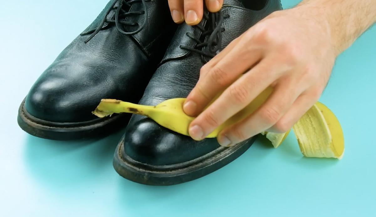 astuces avec des peaux de banane