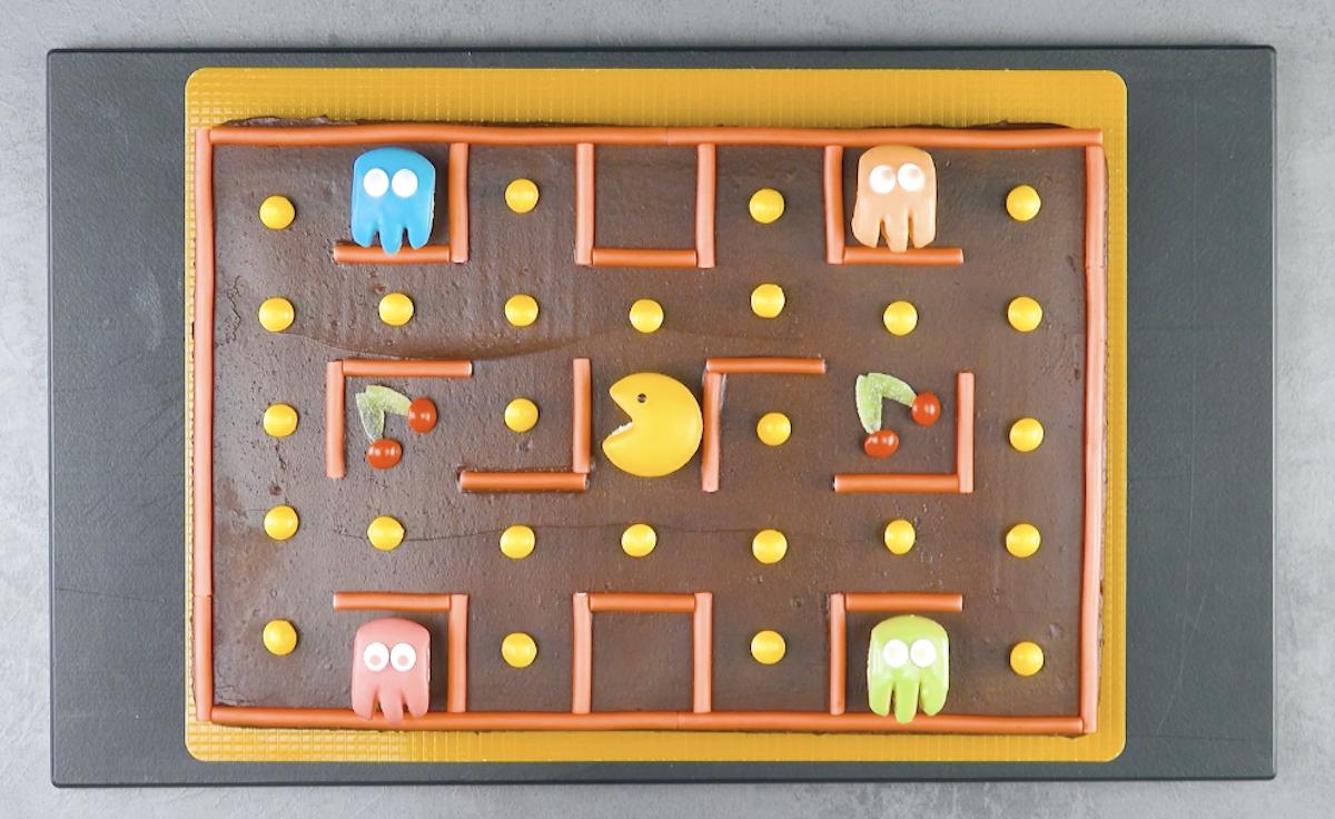 Gâteau Pac-Man