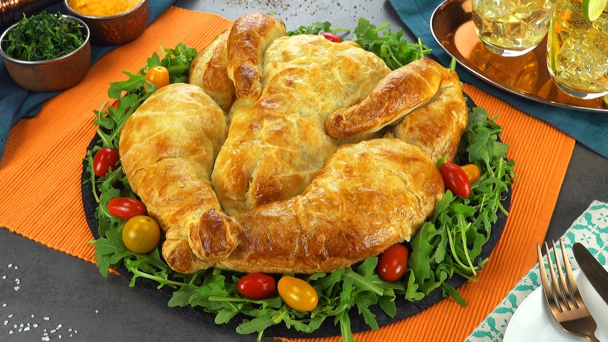 poulet en pâte feuilletée
